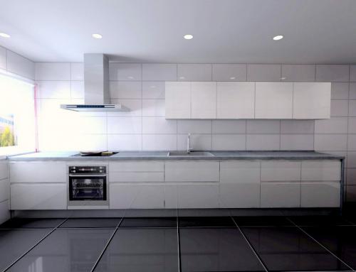 Proyecto cocina funcional en el centro de Palma